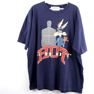 Vintage 90s Looney Tunes Wile E Coyote T Shirt